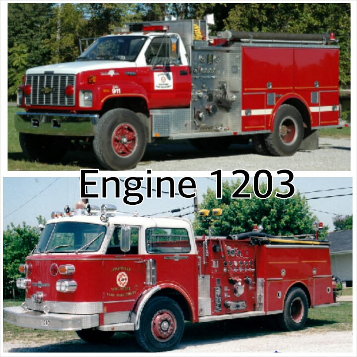 Engine 1203 today and yesterday