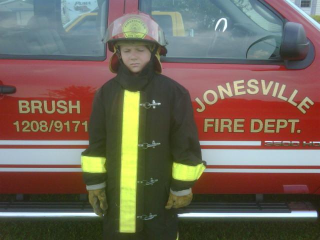 Chief Duvall's son Cameron